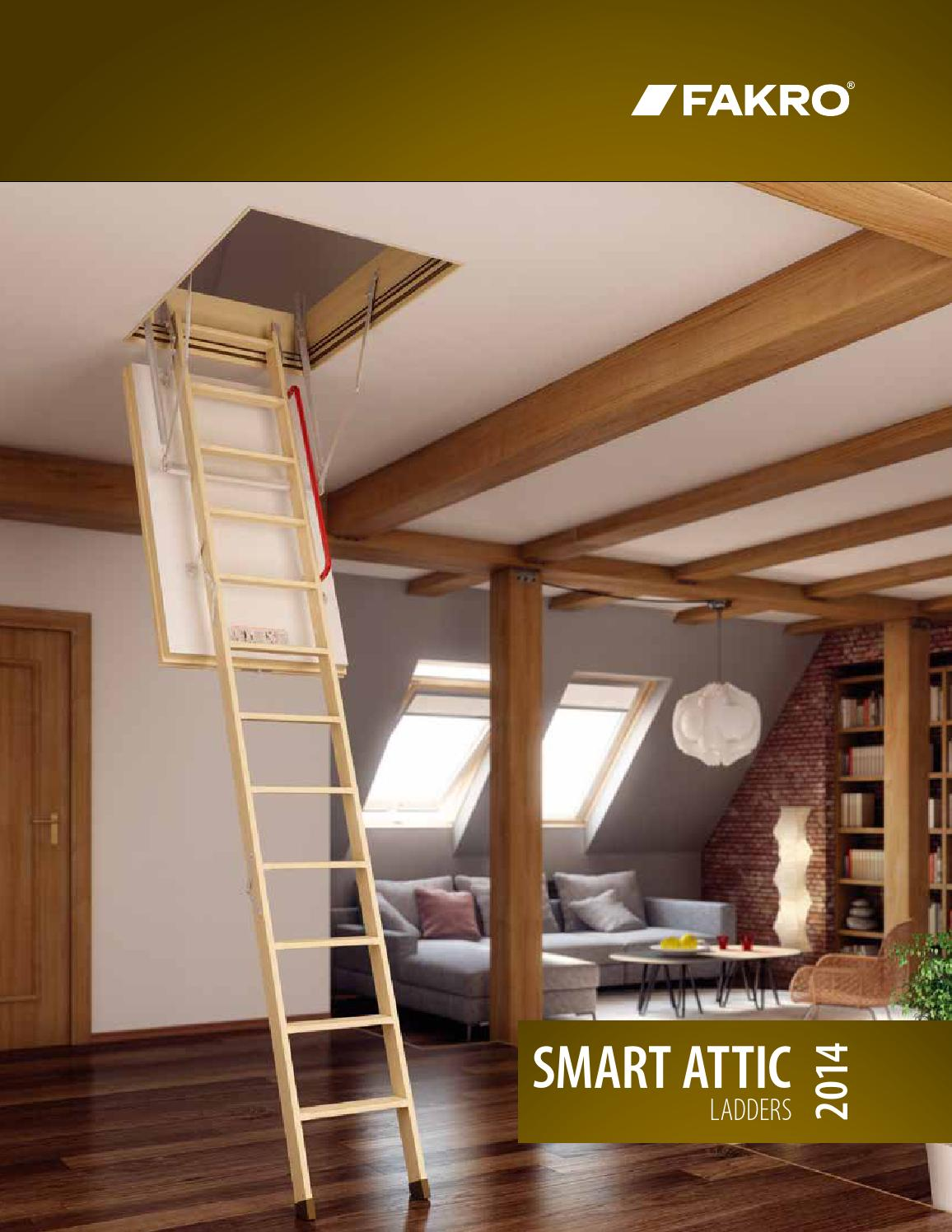 All Sizes LWN-P Non Insulated Pine Wood Attic Ladder