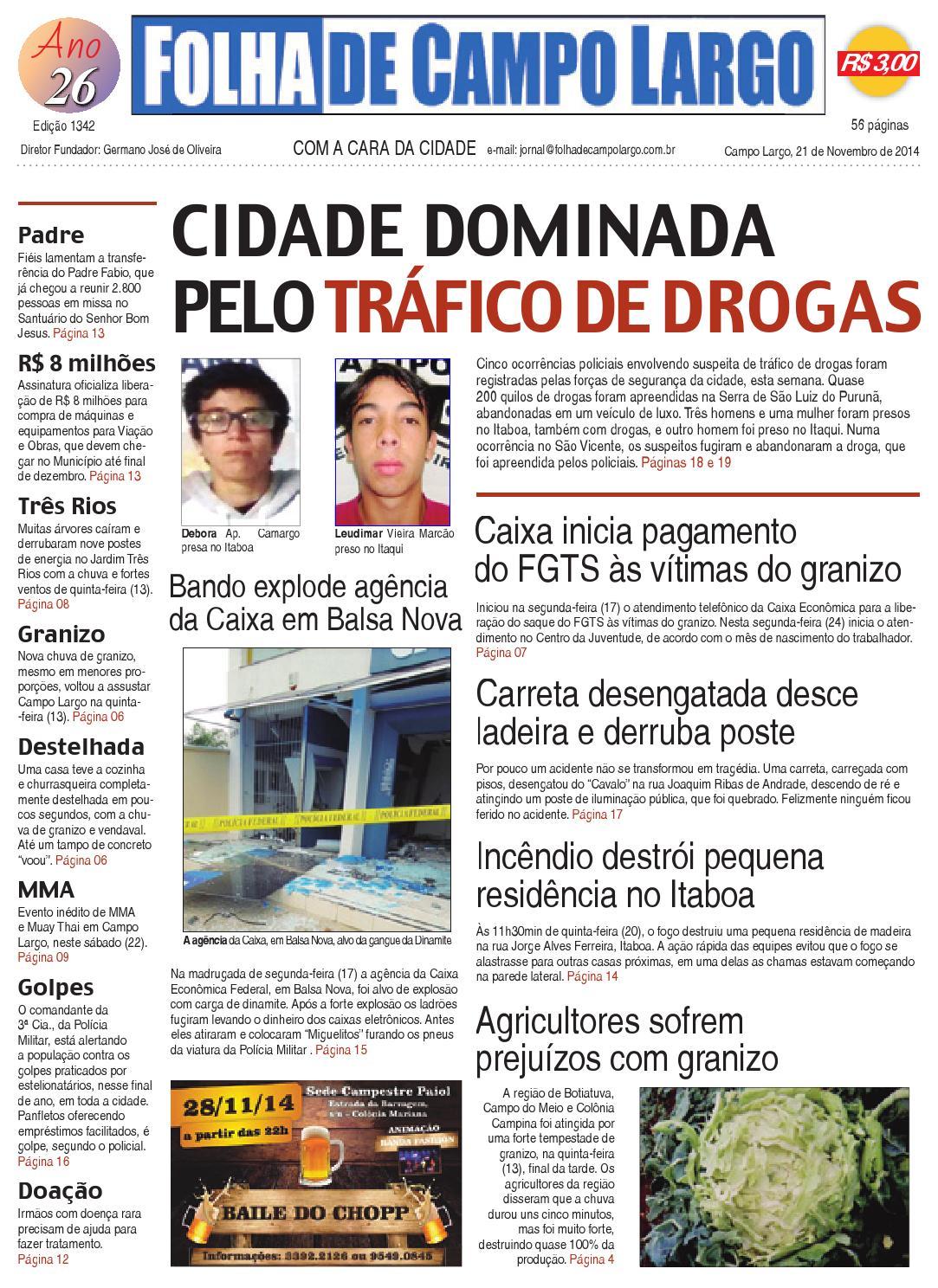 Folha de Campo Largo by Folha de Campo Largo - issuu 17b9e9453e3bb