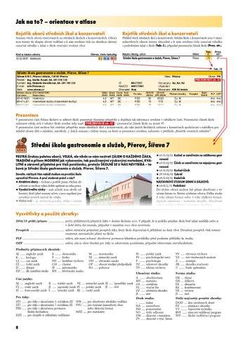 Atlas školství - Olomoucký kraj 508f4915cff