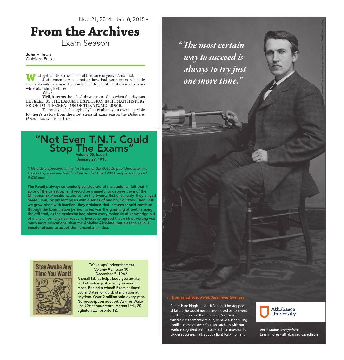 The Dalhousie Gazette Issue 147-12 by Dalhousie Gazette - issuu
