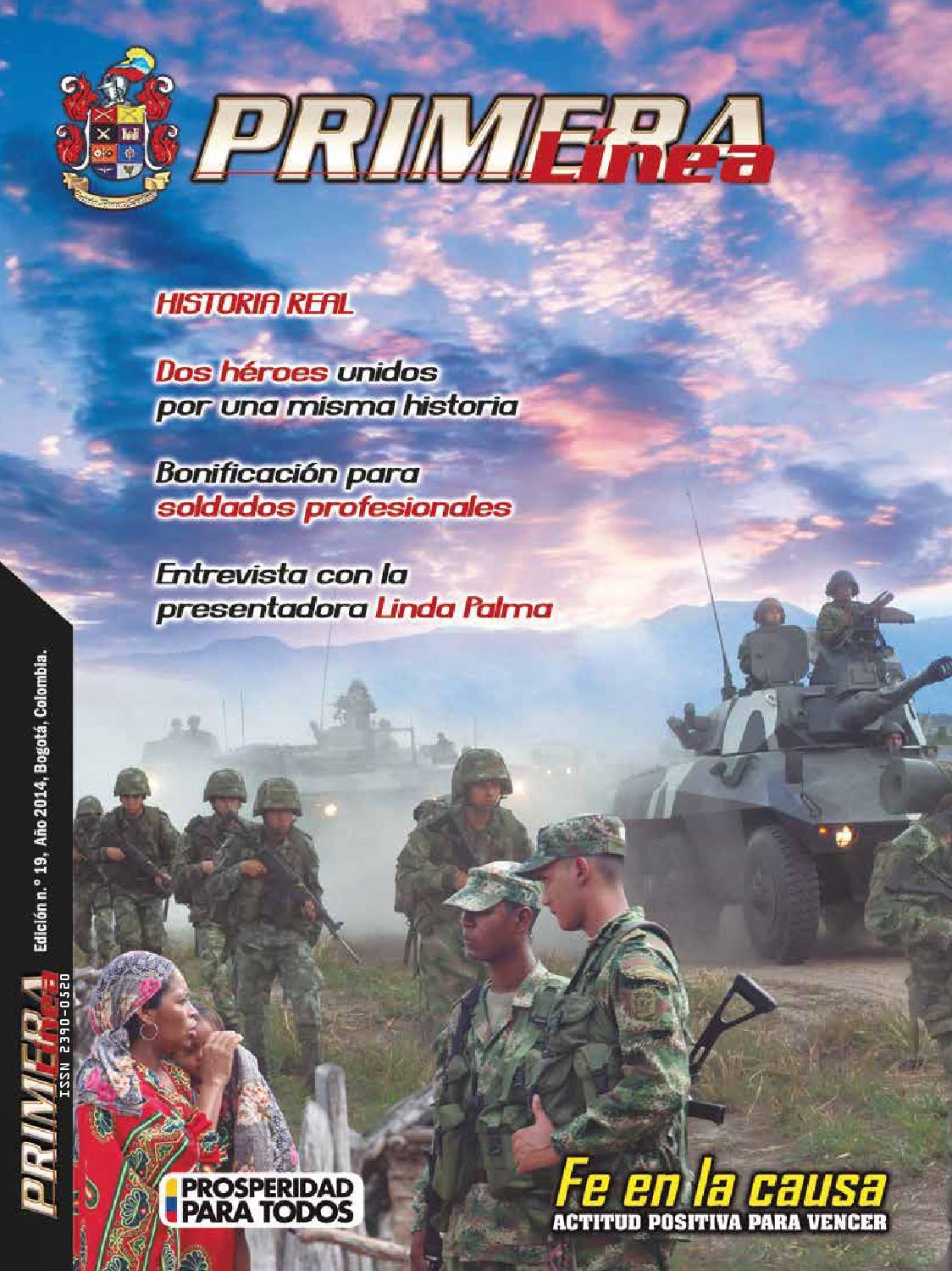 Revista Primera Línea edición n. 19 by Ejercito Nacional - issuu