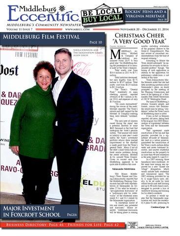 a3c87cede Middleburg Eccentric November 2014 by Middleburg Eccentric