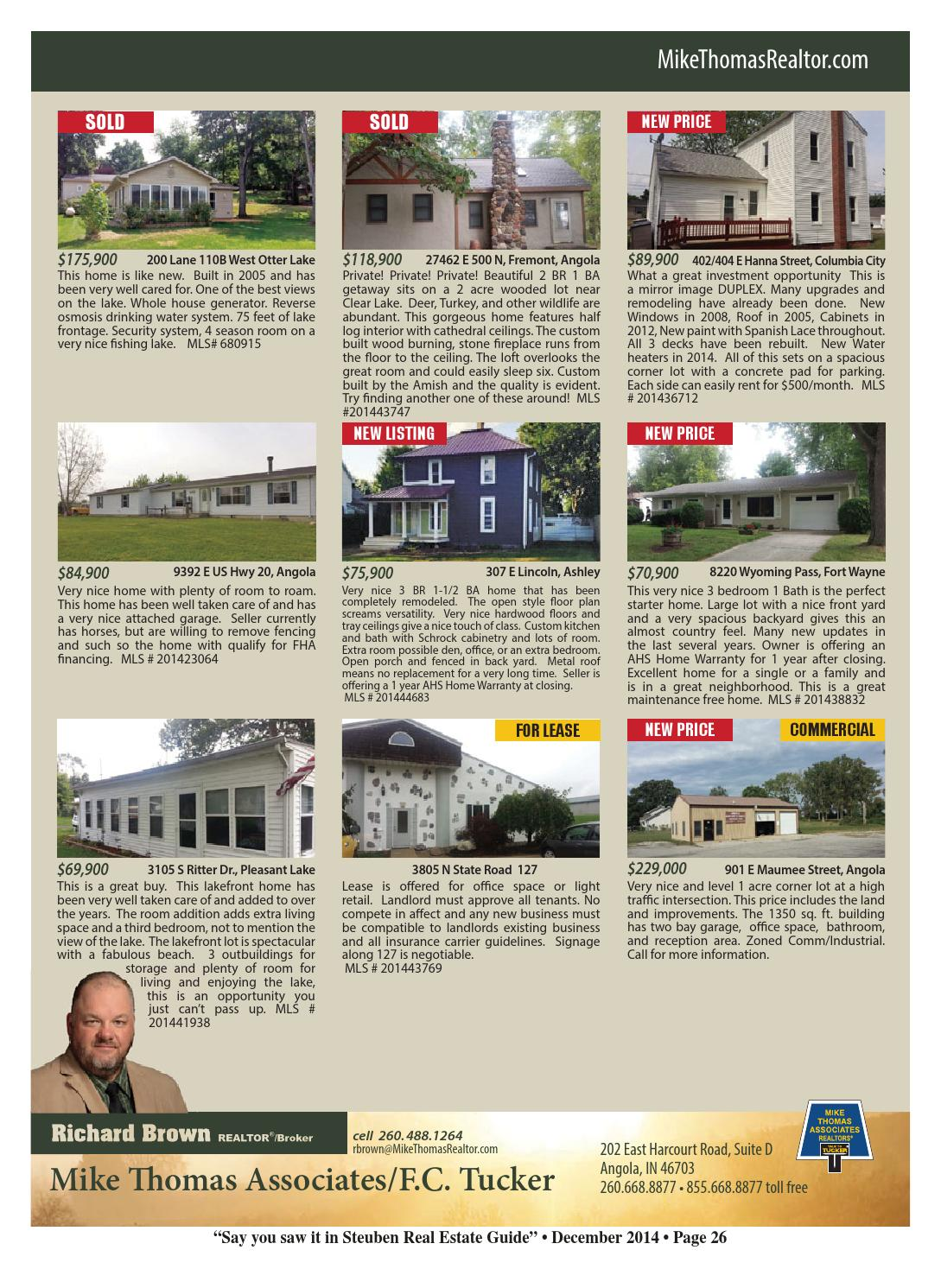 steuben county real estate guide nov 2014 by kpc media group issuu