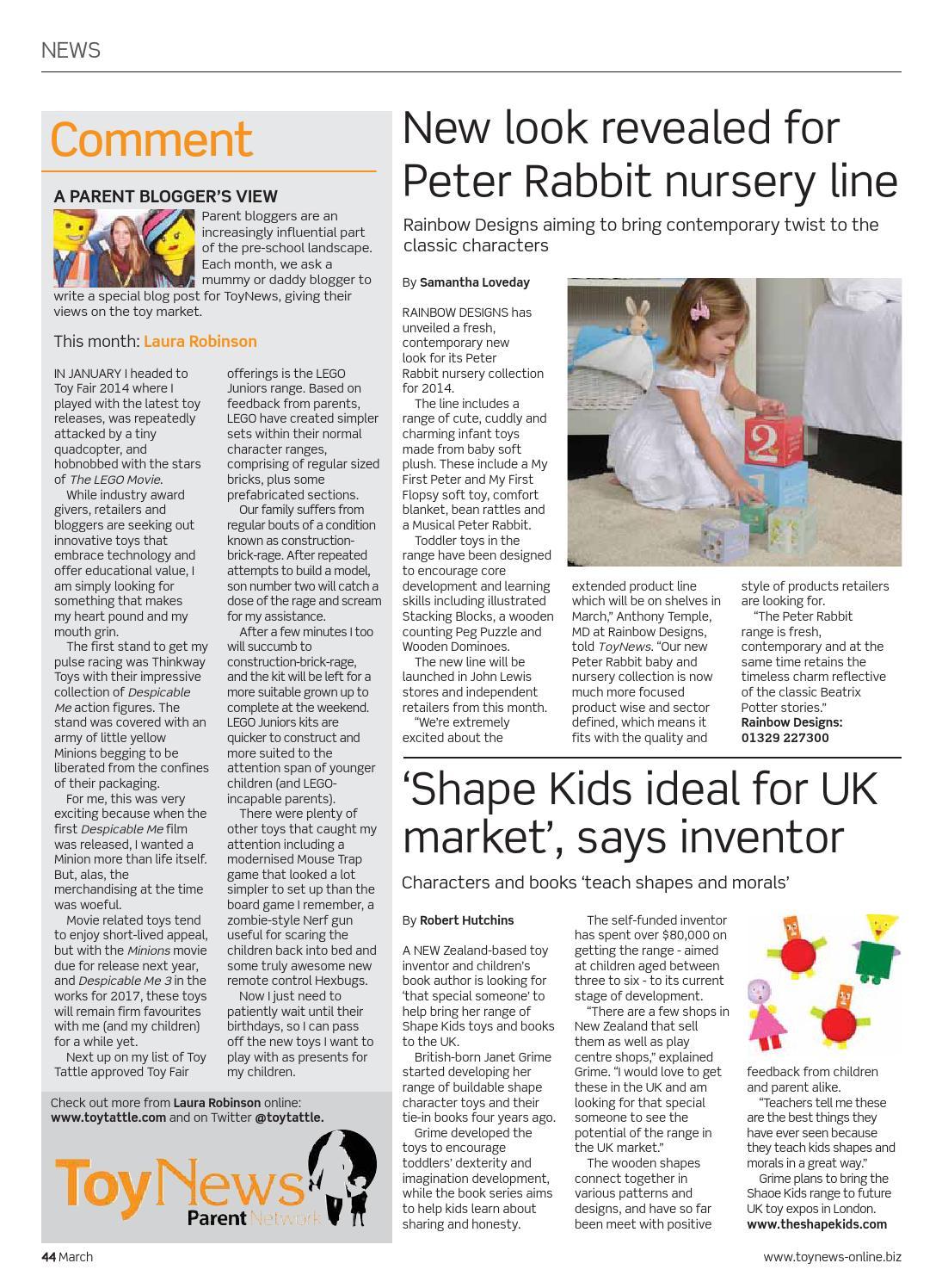ToyNews Issue 148 March 2014 by Future PLC - issuu