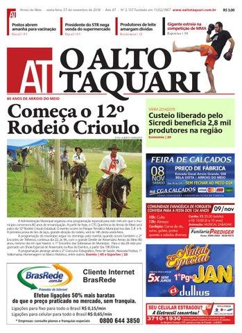 a0e1a837574 Jornal O Alto Taquari - 07 de novembro de 2014 by Jornal O Alto ...