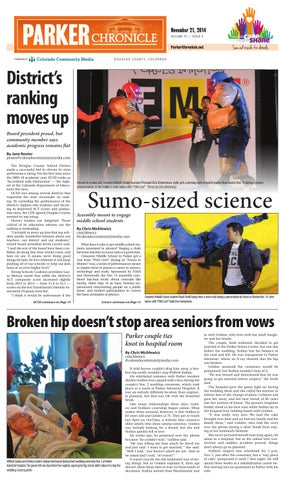 Parker chronicle 1121 by colorado community media issuu page 1 fandeluxe Image collections