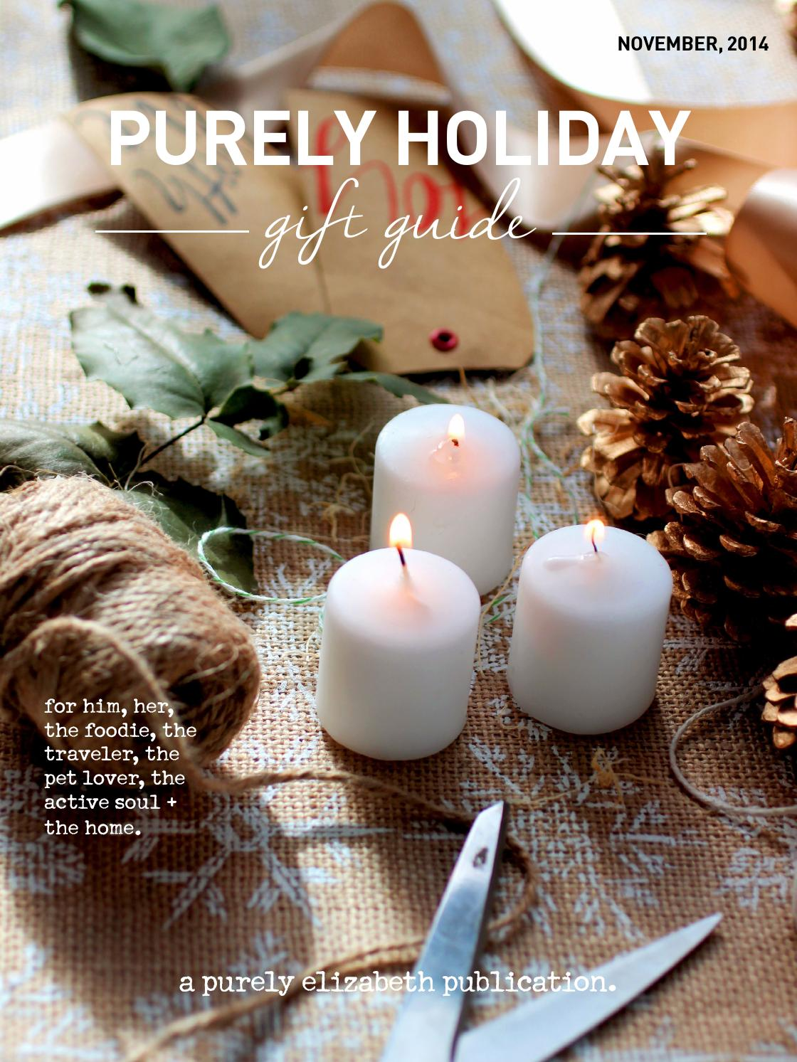 Purely Holiday Gift Guide By Purely Elizabeth Issuu