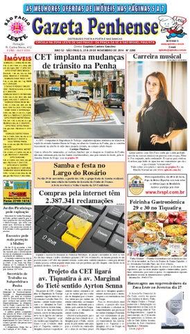 6afa467a7b98d 23 a 29 11 14 - edição 2200 - Gazeta Penhense by Marcelo Cantero - issuu