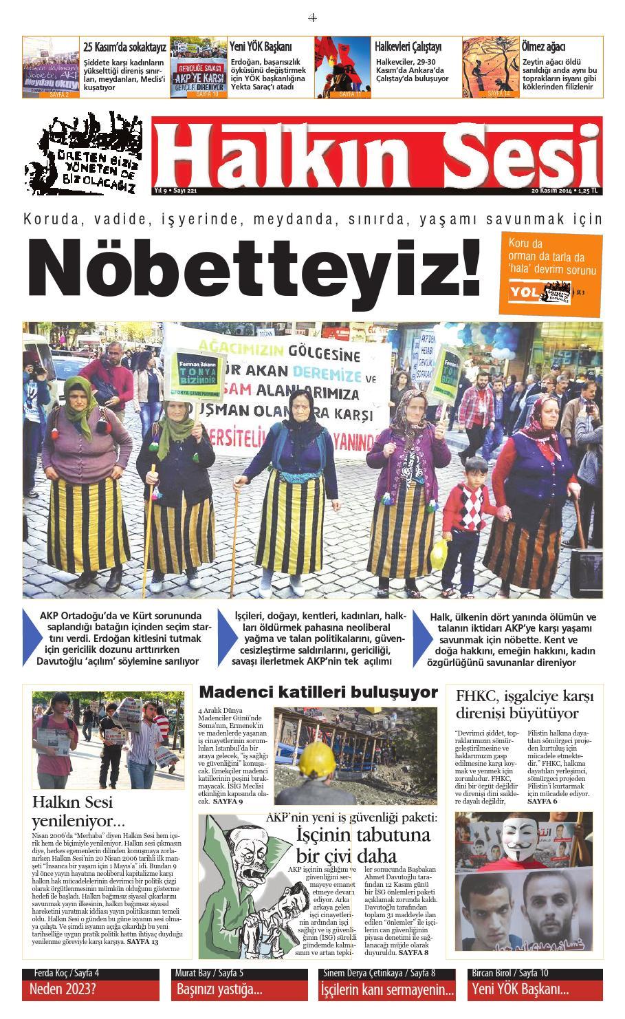 221 By Halkinsesi Gazetesi Issuu
