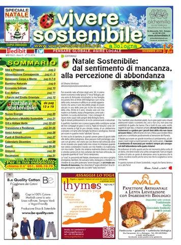 Vivere Sostenibile n. 12  dicembre 2014 by Edibit Vivere Sostenibile ... a255672ae45