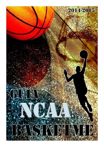 df33afb621 Guía BasketMe NCAA 2014-15 by Xavier Garcia i Sunyer - issuu