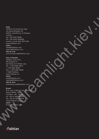 Fabbian catalogue pag doppia by www.dreamlight.kiev.ua - issuu