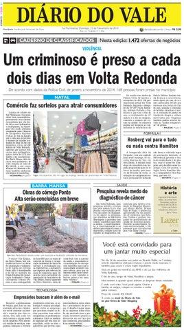 1ac695238e0 7496 diario domingo 23 11 2014 by Diário do Vale - issuu