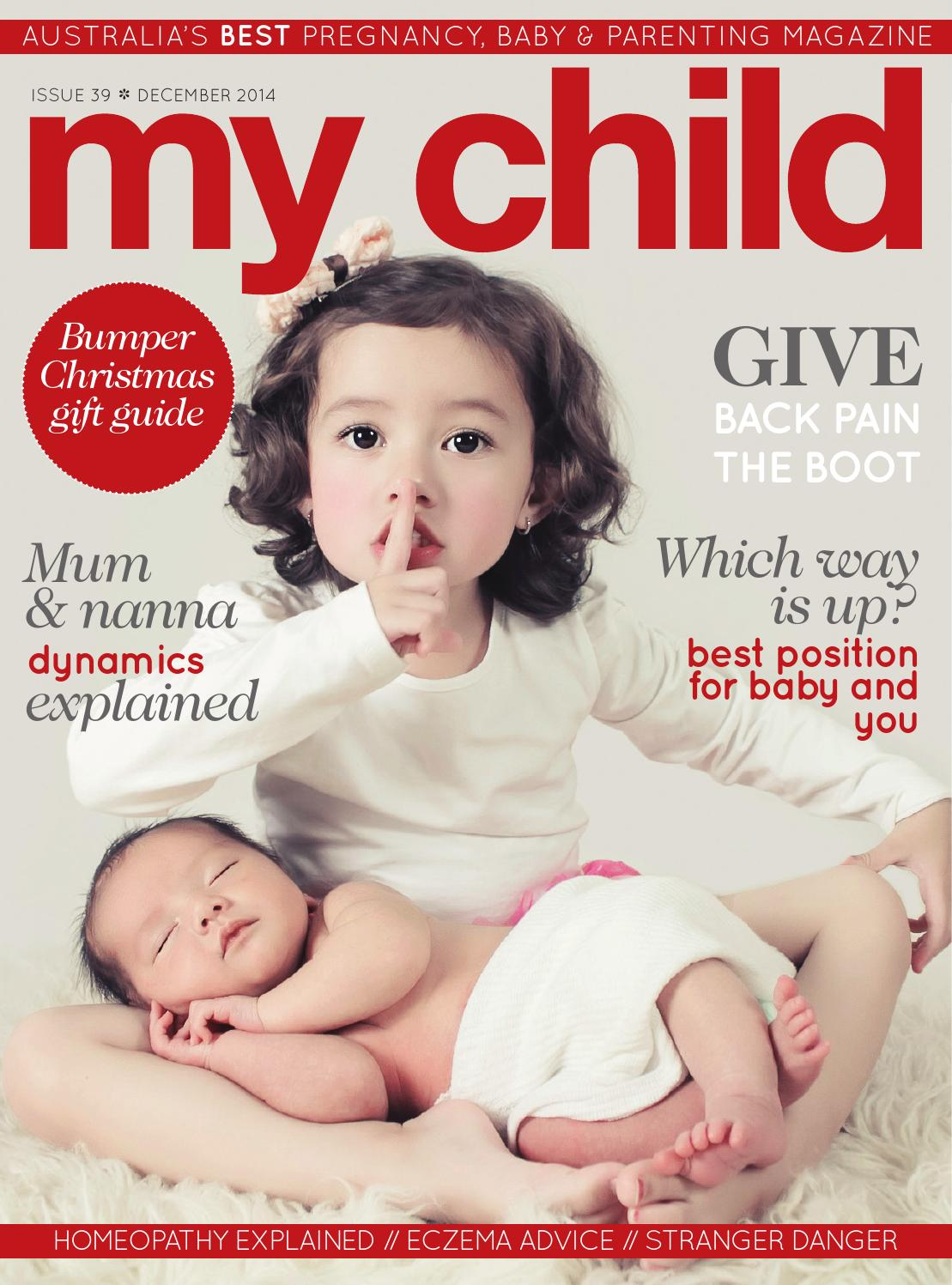My Child Magazine December 2014 Issue By My Child Magazine