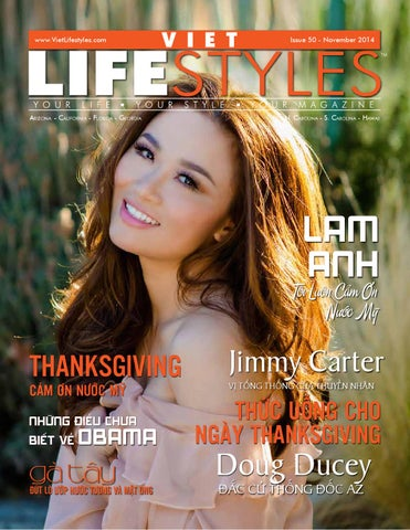Vietlifestyles Magazine Issue 50 Featuring Lam Anh By