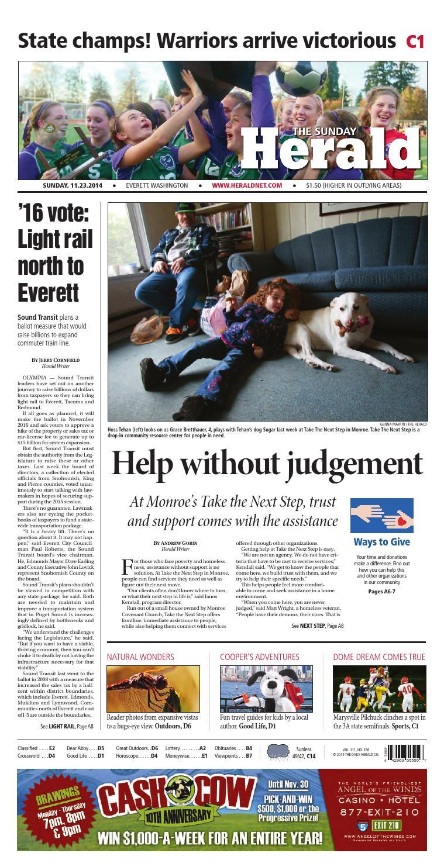 Everett Daily Herald November 23 2014 By Sound Publishing Issuu Lifeproof Ipad Air Fre Case 1907 02 Glacier