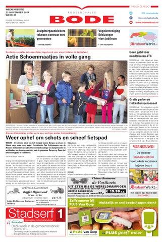 Pieter Van Der Eijken Kantoormeubelen.Roosendaalse Bode 23 11 2014 By Uitgeverij De Bode Issuu
