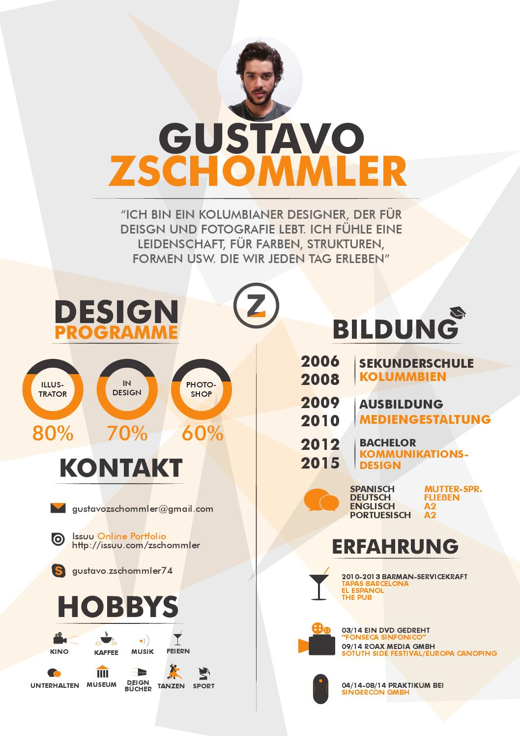 my cv by zschommler
