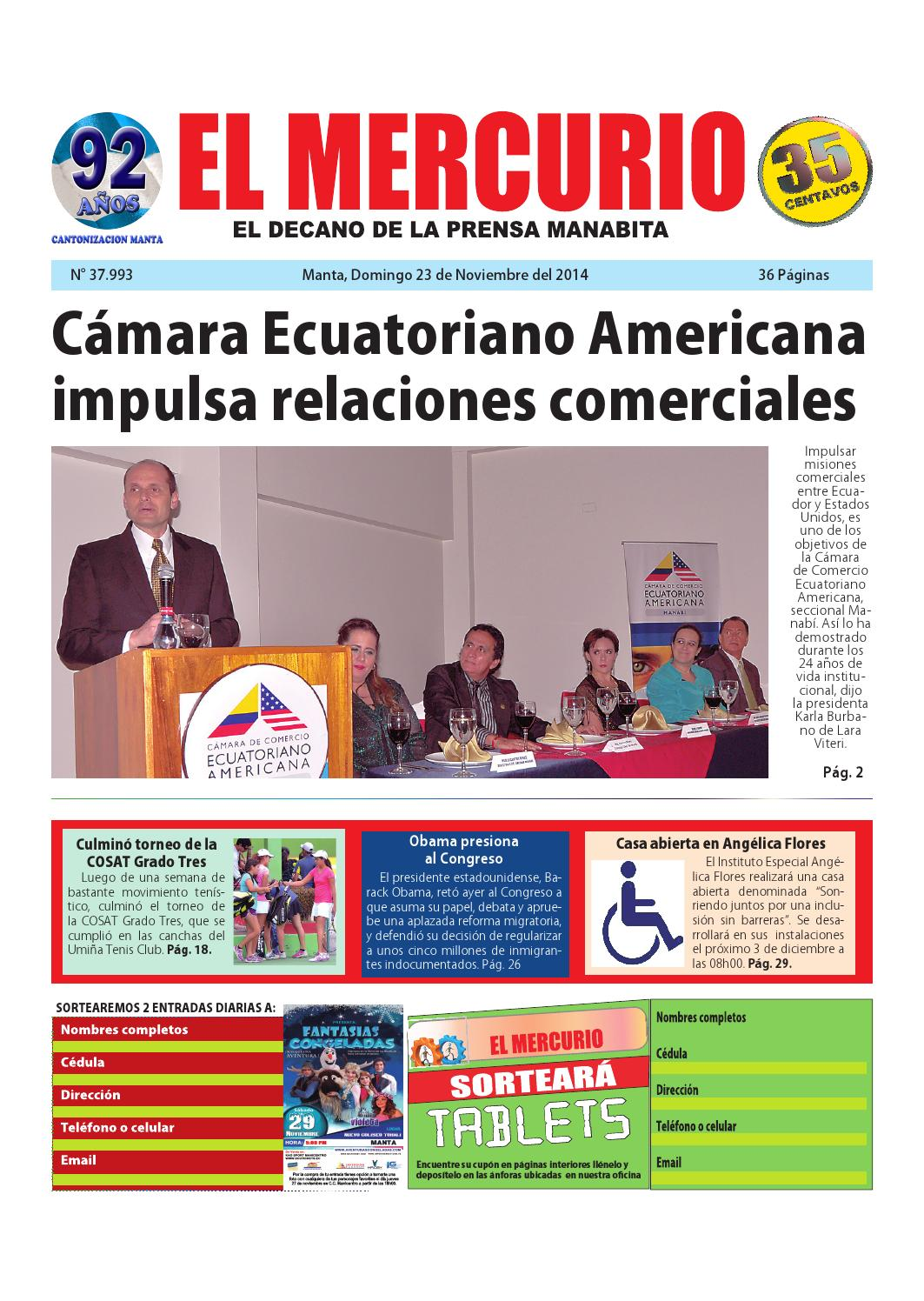 Mercurio domingo 23 de noviembre del 2014 by Diario El mercurio - issuu 522eeb66f23