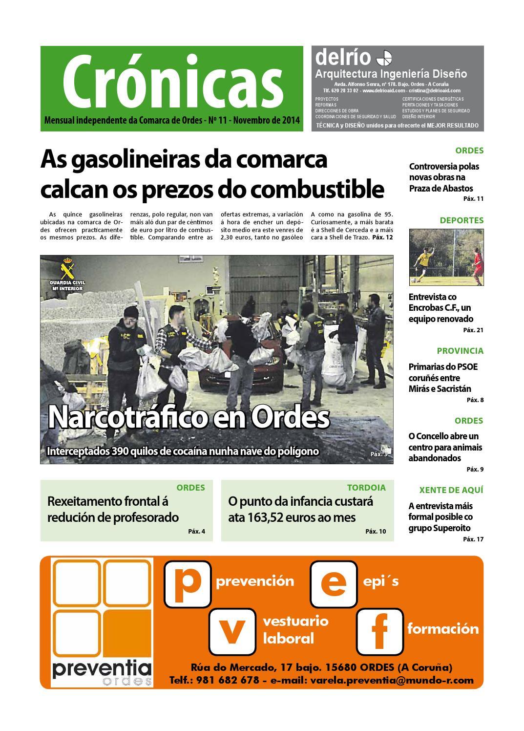 Cronicas Comarca De Ordes N 11 Novembro 2014 By Cr Nicas  # Muebles Visantona