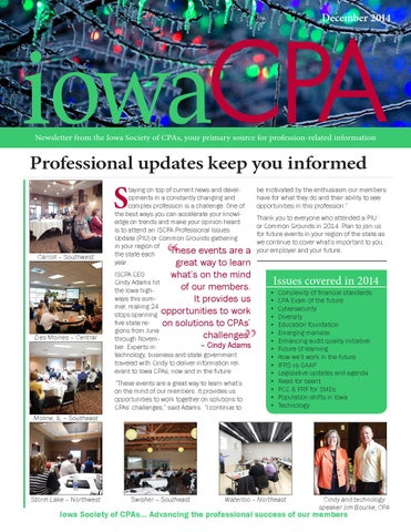 Iowa cpa december 2014 by iowa society of cpas issuu december 2014 fandeluxe Choice Image