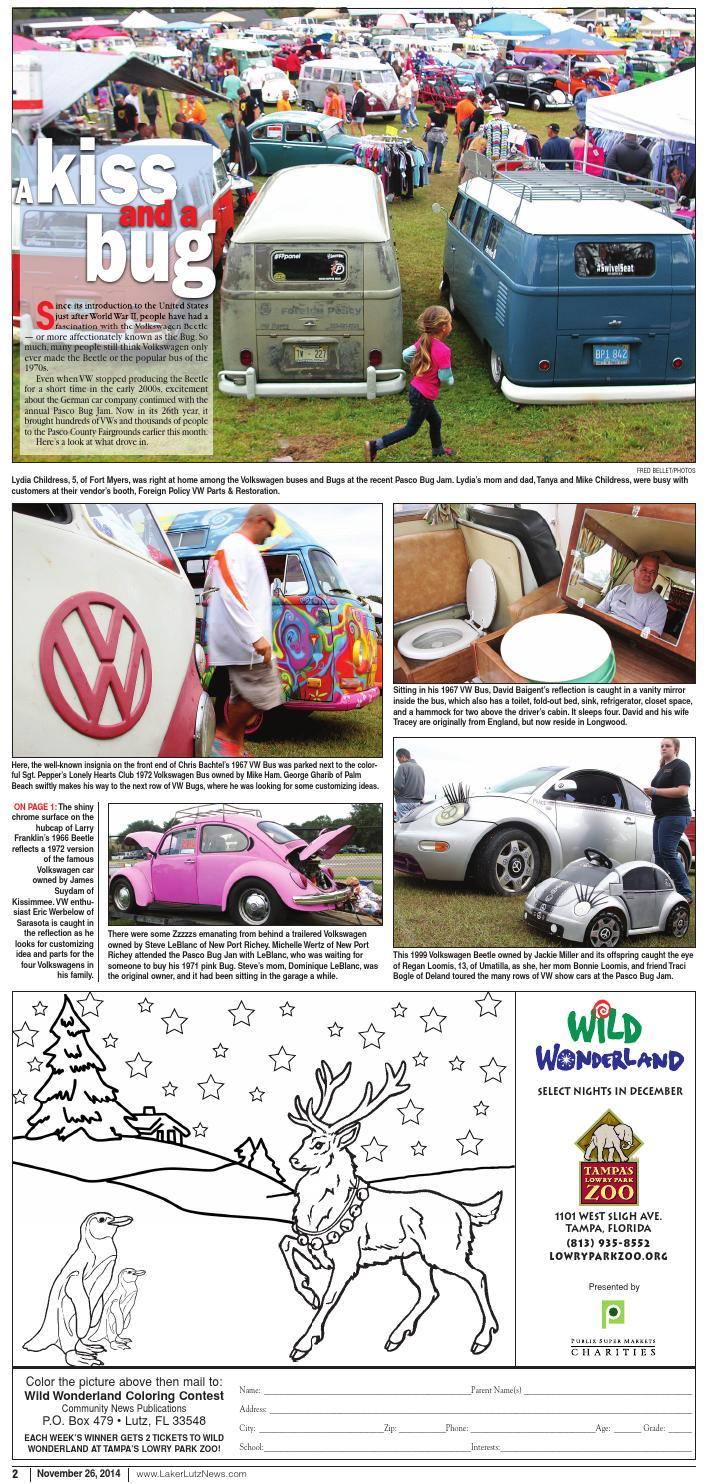 The Laker-East Pasco-Nov  26, 2014 by LakerLutzNews - issuu