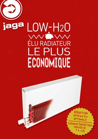 jaga low h2o radiateur le plus economique 2014 by jaga. Black Bedroom Furniture Sets. Home Design Ideas