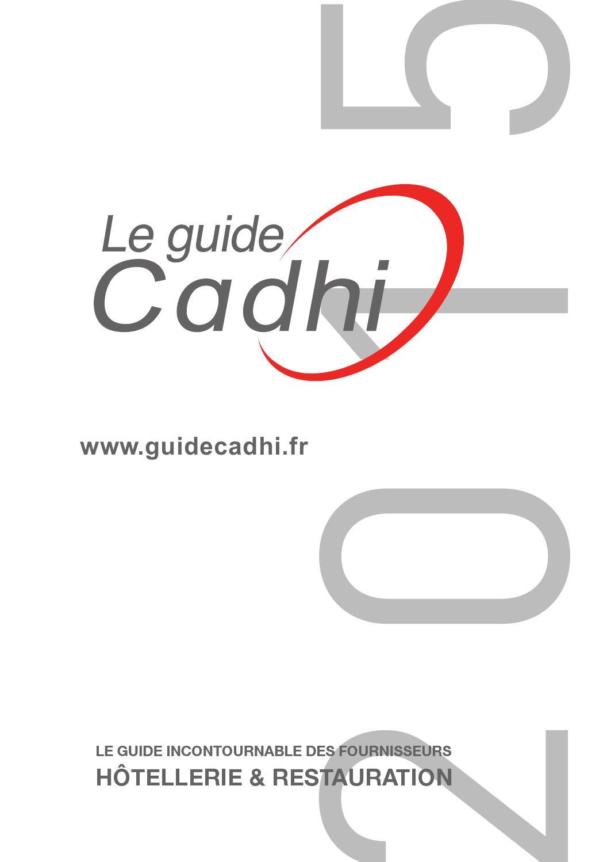 Guide Cadhi Edition 2015 By Cadhi Issuu