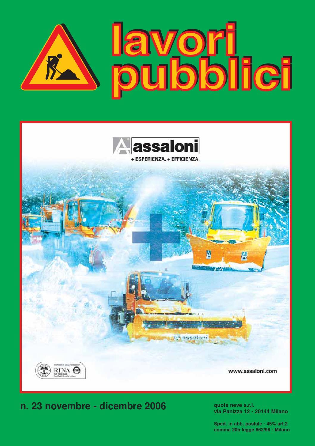 Lavori Pubblici 23 by Lavori Pubblici - issuu 4e91c2c8951