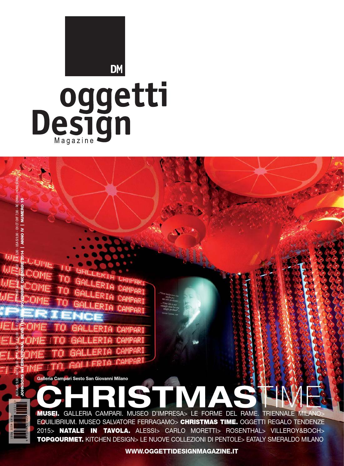 Dm oggetti design magazine by johnson web for Oggetti design online shop