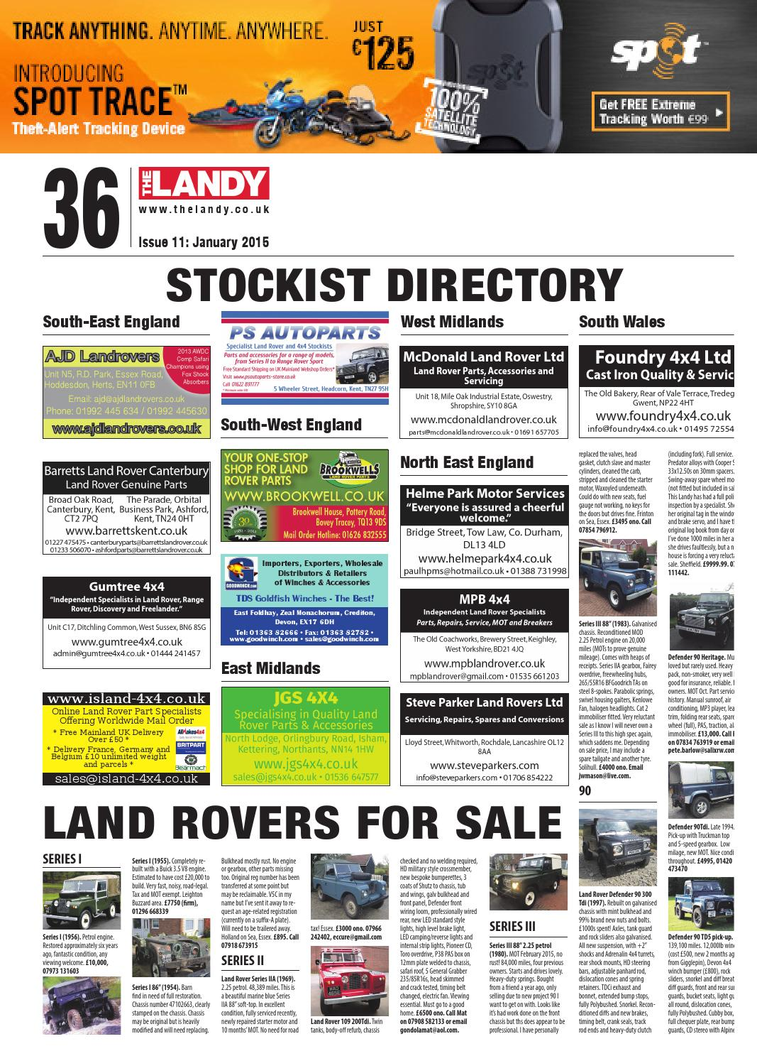 The Landy January 15 by Assignment Media Ltd - issuu