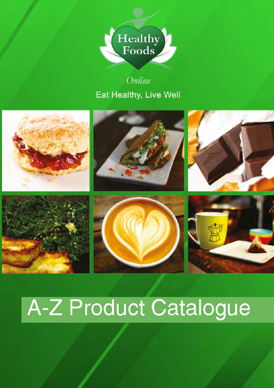 Healthy Foods Online A-Z Buying Guide by Healthy Foods