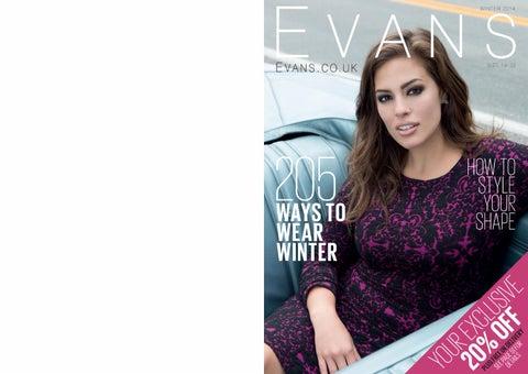 abb325bb78 Evans winter 2014-15 by Plus Size Fashion World - issuu