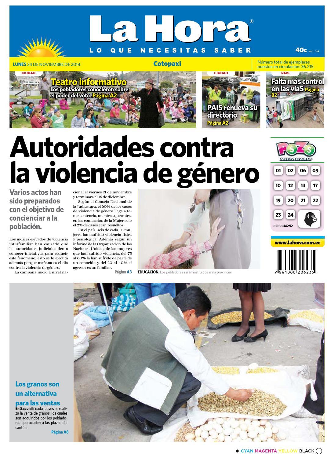 Cotopaxi 24 de noviembre 2014 by Diario La Hora Ecuador - issuu