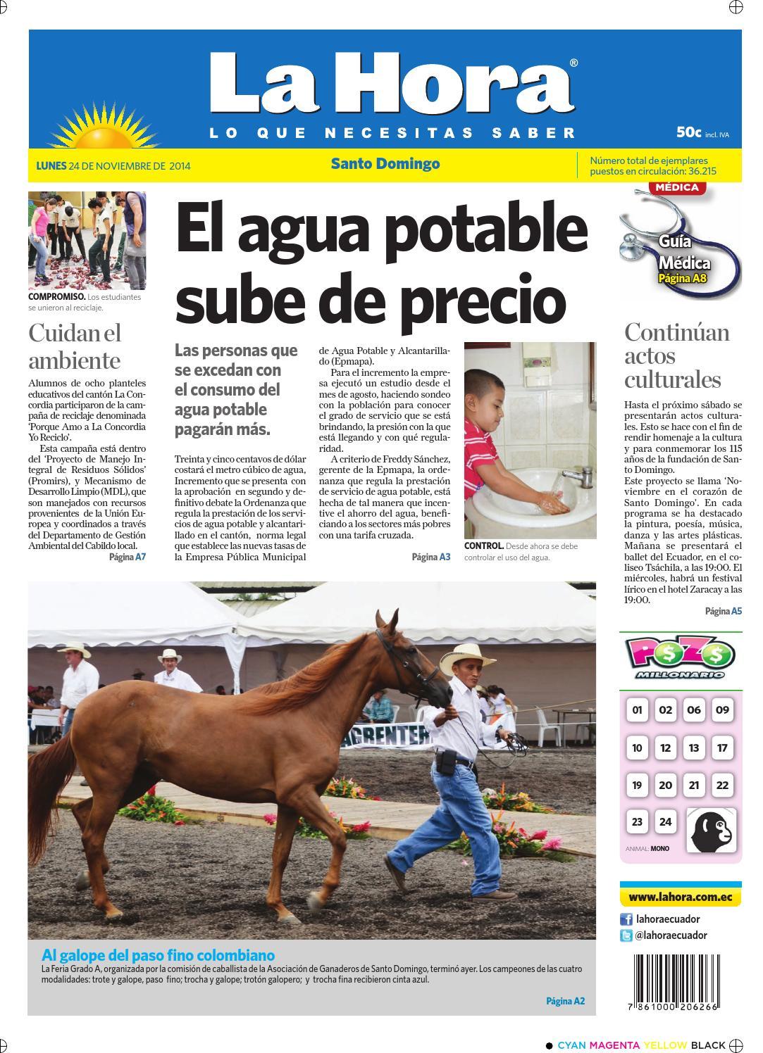 Santo Domingo 24 de noviembre 2014 by Diario La Hora Ecuador - issuu