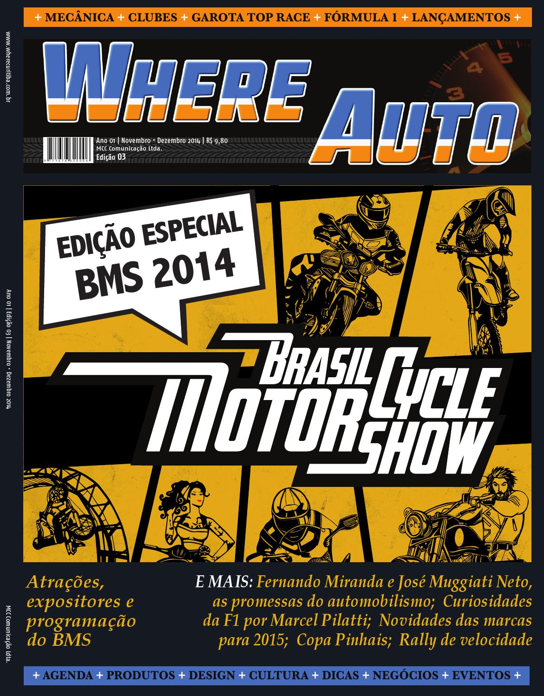 Where Auto - Edição 03 - ESPECIAL BMS by Where Curitiba - issuu a43c235f4d0