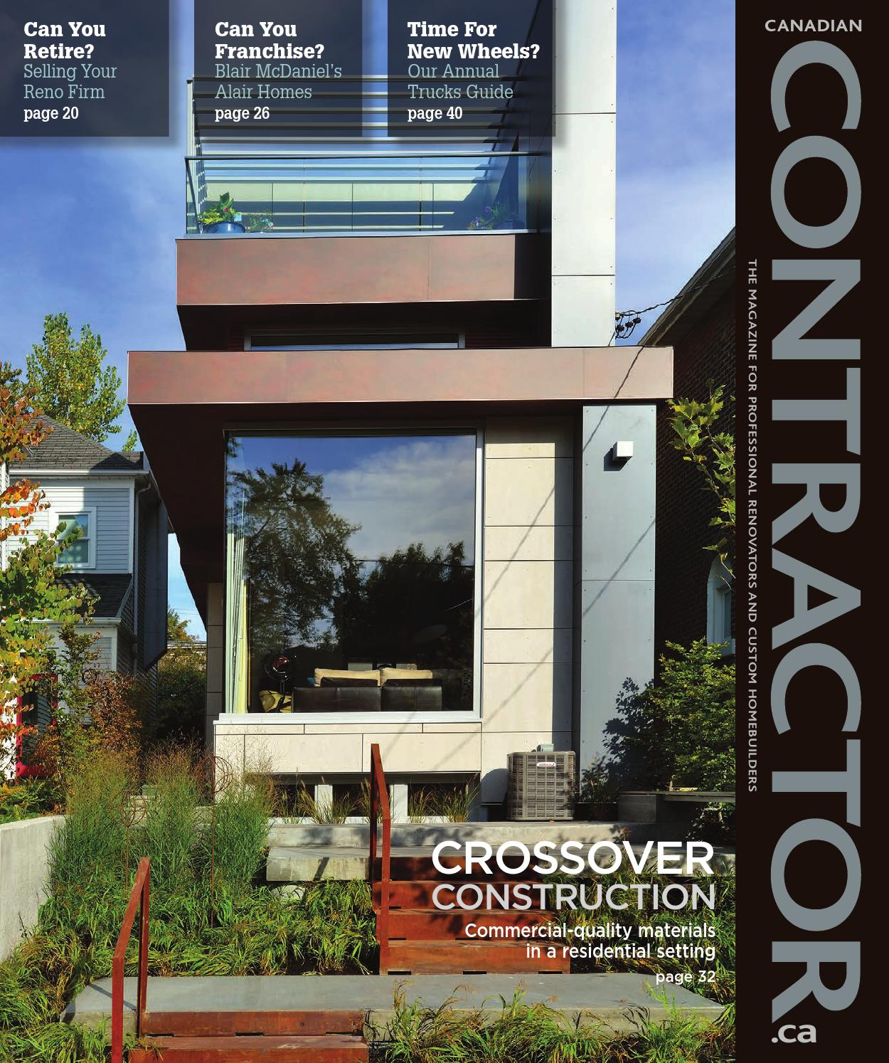 Canadian Contractor Novdec 2014 By Annex Newcom Lp Issuu
