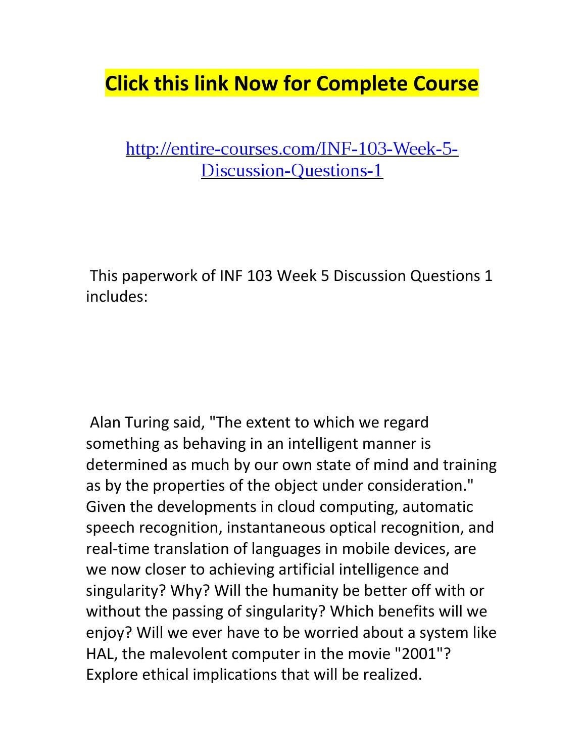 inf 103 research paper Inf 103 final paper manifestation of facebook and the social marketing industry the ways we communicate with each other and the way businesses communicate with us has been transforming exponentially since the beginning of the world wide web.