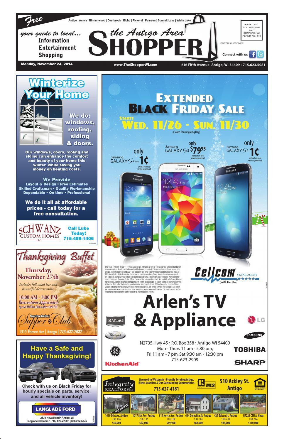 Antigo Area Shopper 11 24 2014 By Antigo Area Shopper Issuu