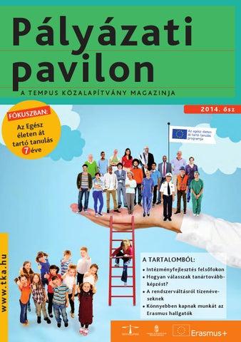 Pályázati Pavilon by TKA Könyvtár - issuu b3f01a7ffd