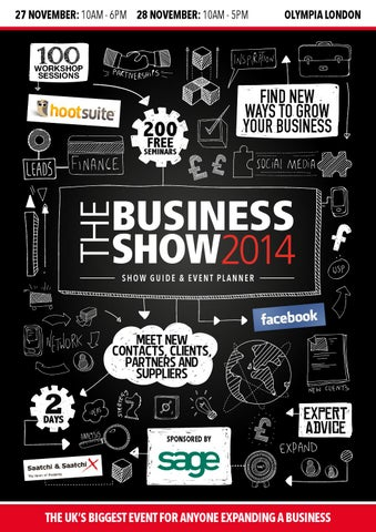 The business show guide olympia london nov 27 28 2014 by prysm group page 1 fandeluxe Image collections