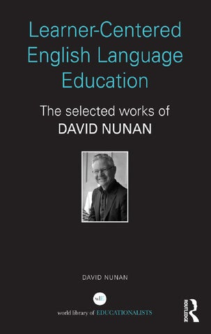 David nunan learner centered english language edbookzz org by learner centered english language education fandeluxe Images
