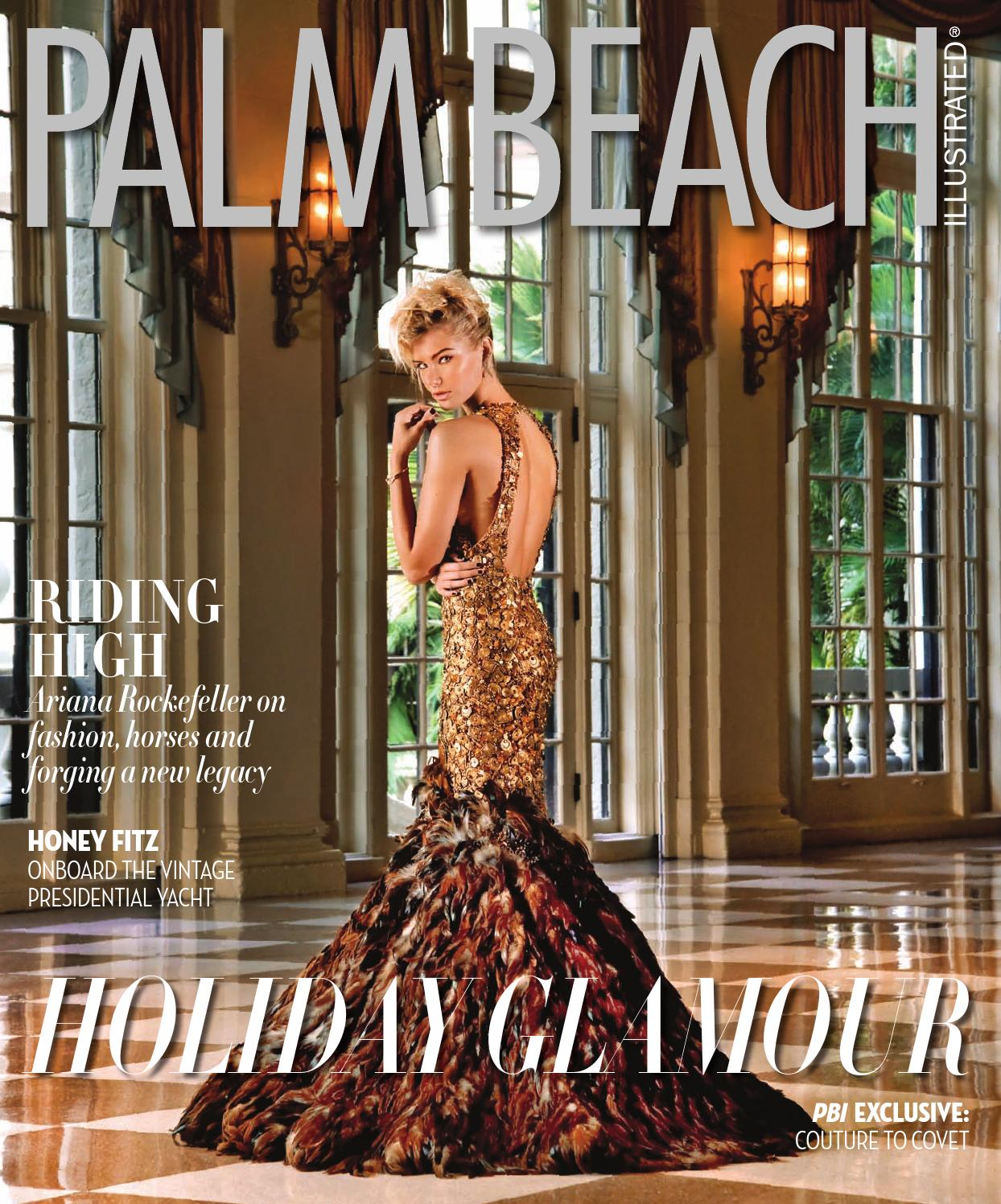 Palm Beach Illustrated December 2014 by Palm Beach Media Group - issuu