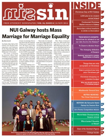 fe2a16fe9 Sin Volume 16 Issue 6 by Student Independent News - issuu