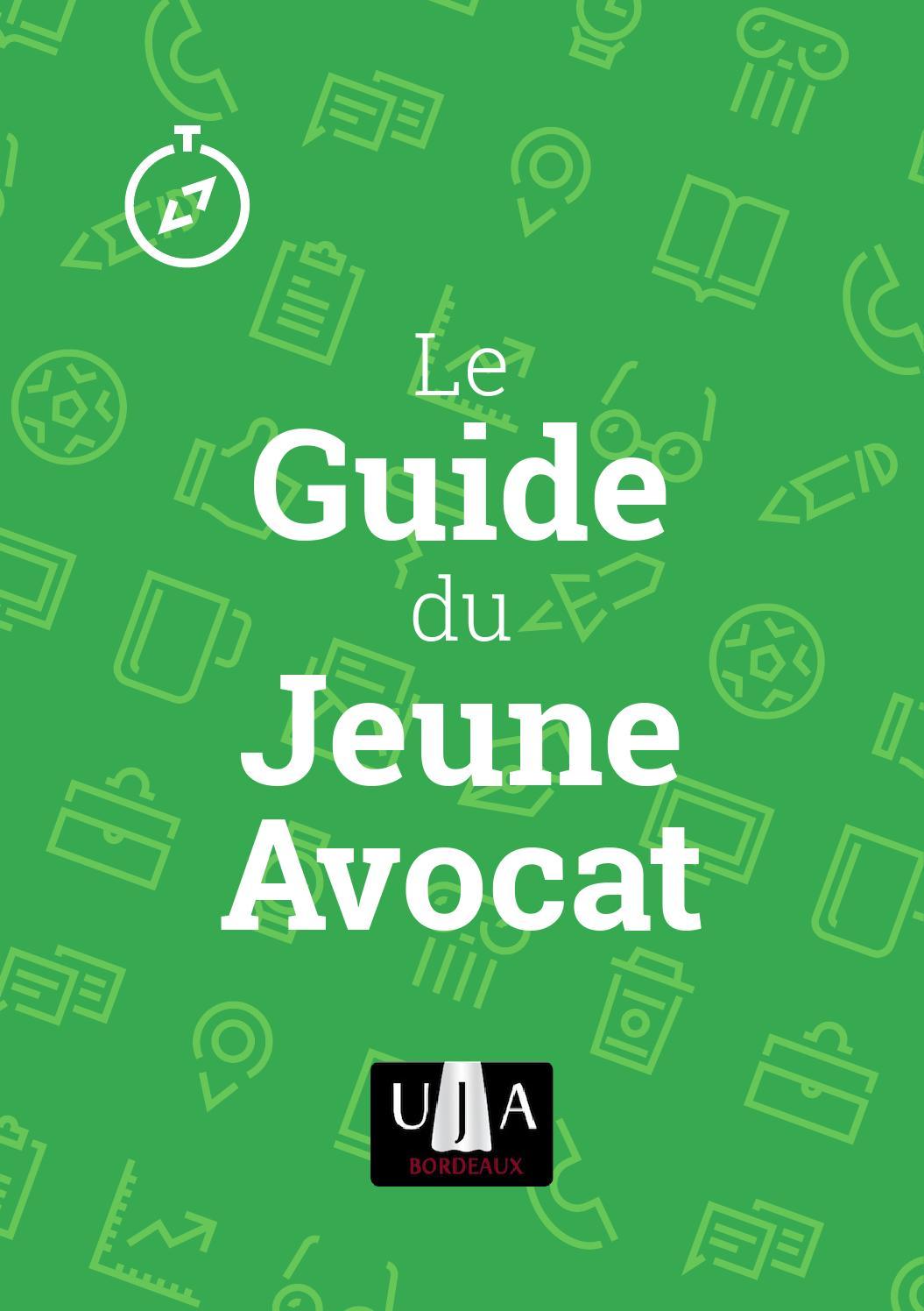 Guide Du Jeune Avocat Bordeaux 2015 By Uja Bordeaux Issuu