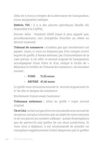 ASSIGNATION TRIBUNAL DE COMMERCE EBOOK DOWNLOAD