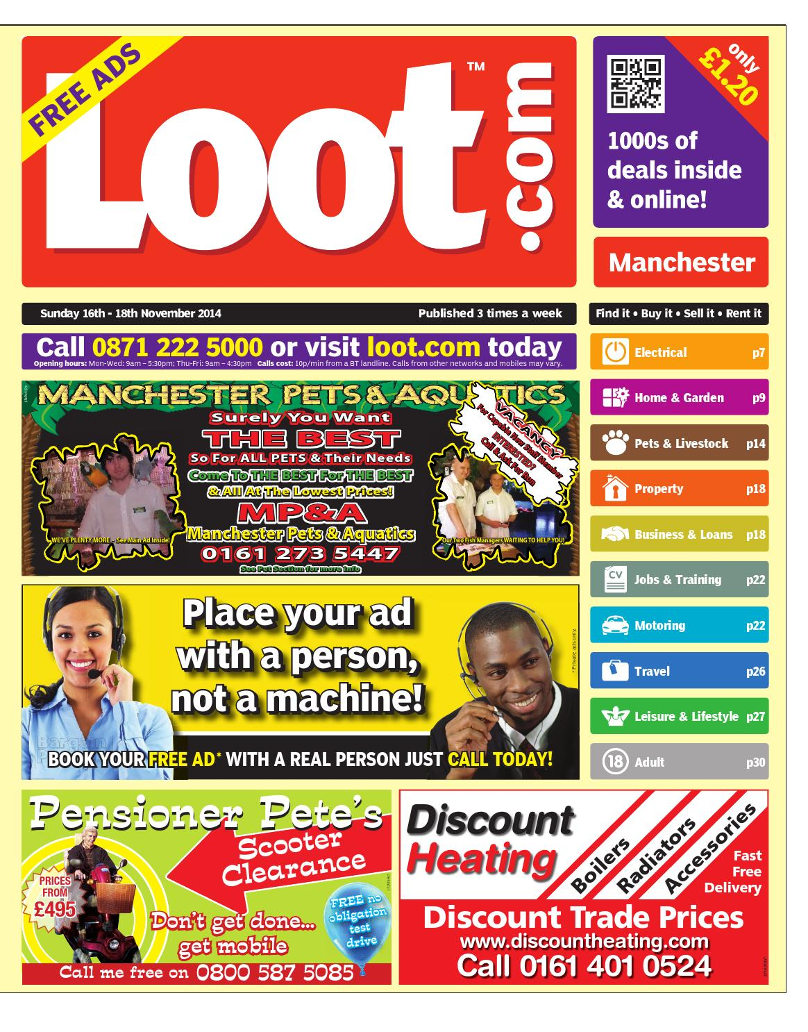 8be1edf1518b Loot Manchester 16th November 2014 by Loot - issuu