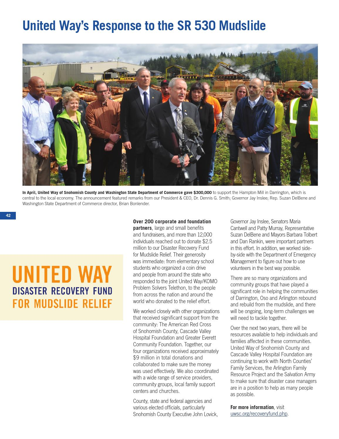 2014 LIVE UNITED Leaders Publication by United Way of
