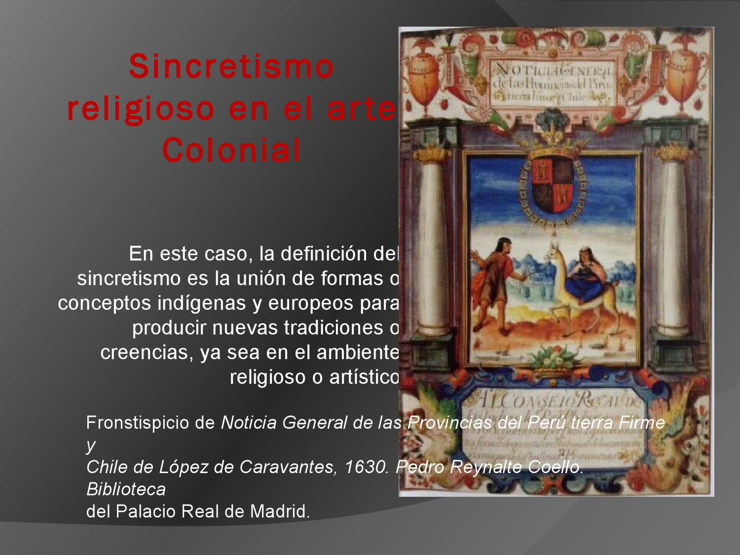 en Inesita Sincretismo religioso Issuu arte el - by colonial