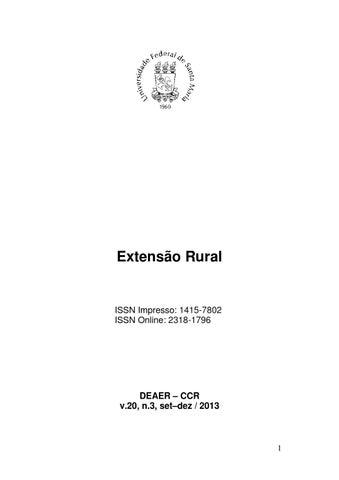 Periódico Extensão Rural 2013-3 by Ezequiel Redin - issuu 29ad039a2bc4b